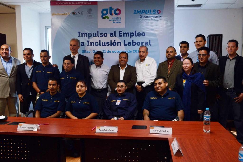 El Instituto Guanajuatense para Personas con Discapacidad junto con el DIF León, Continental  y la Secretaria del Trabajo y Previsión Social promoverá este proyecto de inclusión.