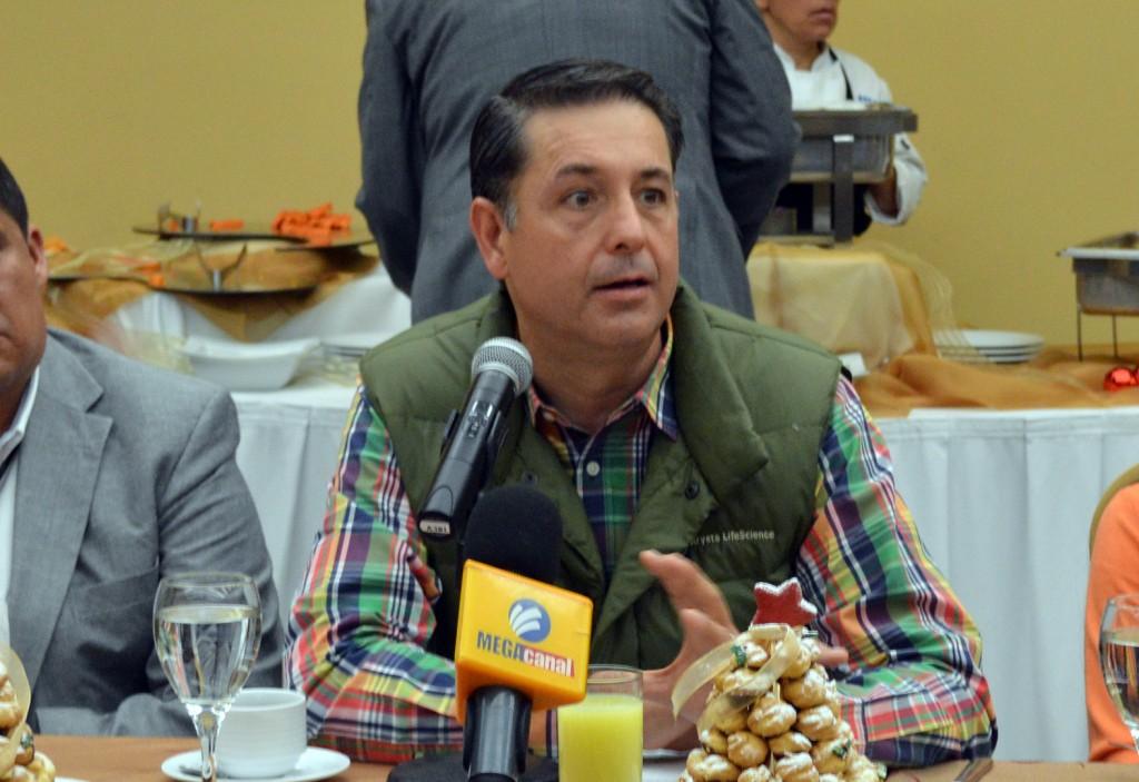 Alejandro Gutiérrez de Velasco, director de Poliforum León.