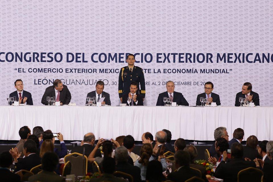 El evento fue encabezado por Enrique Peña Nieto, presidente de México.